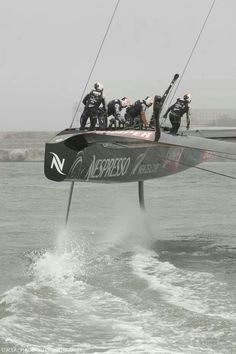 The America's Cup: which is it: sailing or Flying?