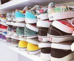 I wish that this was my closet ♡ // vans // adorable