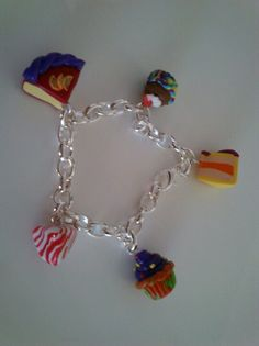 Gateau muffin berlingoy bracelet fimo