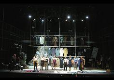 Ghetto,/ Sobol, 2010 Cameri Theatre –Tel-Aviv Israel Director. Omri Nitzan Design. Roni Toren Lighting: Felice Ross Costumes: Orna Smorgonski
