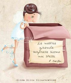 Elke dag is 'n nuwe dag . Italian Quotes, Little Doll, Children's Book Illustration, Illustrations And Posters, Cute Art, Painting & Drawing, Art For Kids, Fairy Tales, Decoupage