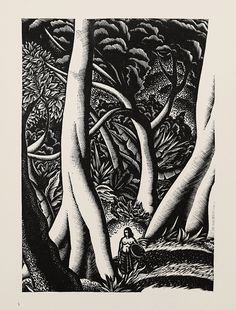 """Lynd Ward - Wood Engraving for Alec Waugh's """"Most Women..."""" (1931) by Thomas Shahan 3, via Flickr"""