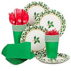 Seasonal Holly Supplies, Decorations and Ideas   WholesalePartySupplies.com