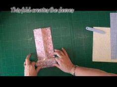 Folded Paper Shirt Tutorial (card-making-magic.com)  Video tutorial for creating a folded paper shirt.