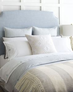 Keep it cool & casual   Gramercy Duvet Cover via Serena & Lily