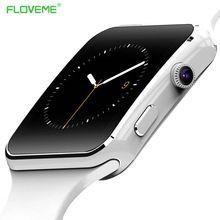 5c6247ee8b0 FLOVEME Câmera Android Smartwatch Bluetooth Relógio Inteligente LCD SIM  Cartão Das Mulheres Dos Homens Relógio de