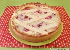 Crostata alle ciliegie e crema pasticcera