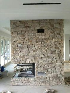 Finished rendered sandstone fireplace Lounge Room, Tuscan, House, Sandstone Fireplace, Sandstone, Fireplace, Renovations, Family Farm, Furniture Decor