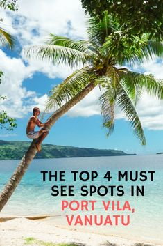 Your free and in depth Vanuatu travel guide! Get essential Vanuatu travel tips, see tons of photos and get detailed travel plans for Port Vila, Efate, Santo and Tanna. Lanai Island, Island Beach, Tonga, Vanuatu Port Vila, Tahiti French Polynesia, Where Is Bora Bora, Vacation Trips, Beach Vacations, Bon Voyage