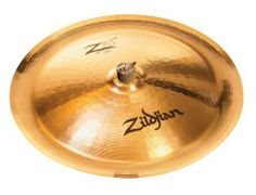 """Zildjian Z3 20-Inch China Cymbal by Zildjian. $284.99. Super-loud effects!This Z3 China offers the most power of any cymbal in its class. The special hammering of the 20"""" Z3 China Cymbal allows it to have a lush, full-bodied sound with lots of focus and clarity. It's what you would expect from a china cymbal, times 1,000. Z3 Cymbals are also available in a range of sizes and types and more than one of them together create an amazing sonic display of cymbal power an..."""