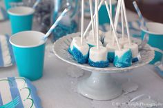 Dipped marshmallows, anyone? What a great idea for an easy and delicious treat! Source: Genie Leigh Photography