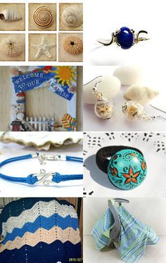 Hot days by the sea by Gabriela Segal on Etsy--Pinned with TreasuryPin.com - this one includes my lap cover (great for summer nights)