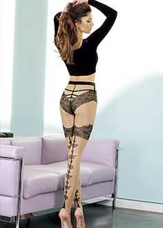 8de2472c3ac Trasparenze Luito Tights Patterned Tights