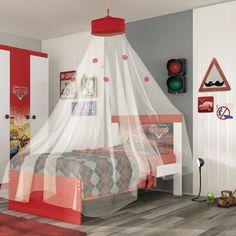 Gostou desta Cama Carros Disney Happy 4a C/Dossel Teto Vermelho - Pura Magia, confira em: https://www.panoramamoveis.com.br/cama-carros-disney-happy-4a-c-dossel-teto-vermelho-pura-magia-7192.html