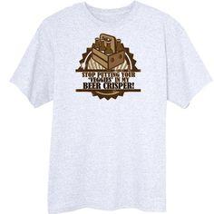 The Beer Crisper Funny Novelty T-Shirt Z13529 - Rogue Attire