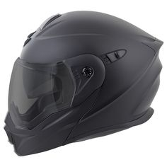 Scorpion has redefined a segment, melding the best features of touring helmets with the versatility of an off-road lid. Scorpion EXO-AT950 Helmet is the all-in-one swiss army knife of the helmet world. The modular chin bar allows you to relieve your claustrophobia or ask for directions while the off-road style peak and large eye port deflects roost, blocks the sun and allows you to wear googles when tearing up the trails. Additional features such as a Everclear anti-fog face shield and…