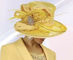 If I was brave enough, I'd show up to church on Sunday in this hat!  Let's bring back the Easter bonnets, ladies...
