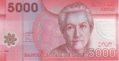 Banknote: Chile Note 5000 Pesos 2012 Polymer Serial Ab P New Unc - Financializer Store Chile, Custom Labels, Coin Collecting, I Got This, Abs, Stamp, Wallpaper, Sketches, Stamps