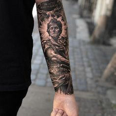 best full sleeve tattoos ever Forarm Tattoos, Leg Tattoos, Tattoos For Guys, Tatoos, Full Sleeve Tattoo Design, Forearm Tattoo Design, Leg Tattoo Men, Full Sleeve Tattoos, Greek Mythology Tattoos