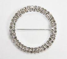 Rhinestone Velcro Sash Clip / Napkin Ring | CV Linens