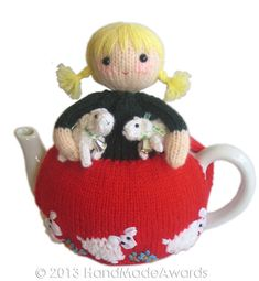 Mary had a little Lamb PDF Email Knit PATTERN by HandMadeAwards