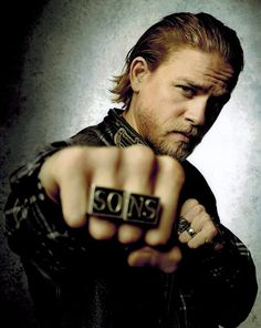 "Sons of Anarchy Charlie Hunnam as Jackson ""Jax"" Teller Punching 8 x 10 Photo"