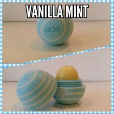 Letzte Chance zum bieten!!! EOS Evolution of Smooth Lip Balm Vanilla Mint der neueste EOS Lip Balsam aus USA
