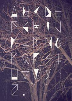 Le Kunt d' Arc on Behance Typography Alphabet, Typography Fonts, Graphic Design Typography, Lettering Design, Letras Cool, Schrift Design, Writing Fonts, Word Design, Text Design