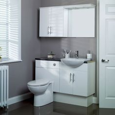 Bathroom Fitted Furniture White Pack
