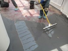 Polished Self-Leveling Concrete Flooring | Duraamen