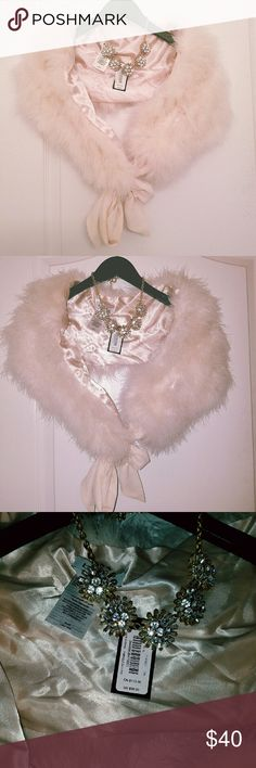 Bebe Pink Feather Boa Elegant Bebe feater boa in soft pink. Can be styled over a dress or over any leather jacket for an added bit of glam. Timeless piece! NWTs. bebe Accessories Scarves & Wraps