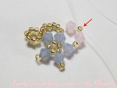 [Tutorial] Crystal Bracelet #20: beejang Crochet Beaded Bracelets, Beaded Bracelet Patterns, Beaded Rings, Crystal Bracelets, Handmade Bracelets, Beading Patterns, Seed Bead Earrings, Seed Beads, Beaded Bracelets