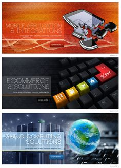Website Slider Banner Designs