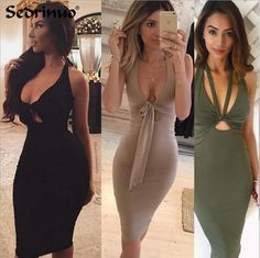 Petalsfashionz.com Quick shipping low prices women s evening dresses and wrap  dresses Plunge. Black Party DressesSexy ... 0a81106f2