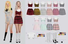 Kalewa-a: Clueless Set • Sims 4 Downloads