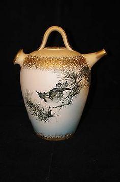1886 Rookwood Yellow Clay Bisque Sprinkler Water Pot Matt A Daly Bird Vessel | eBay