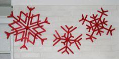 Noël toi-même ! J-5 : créer des flocons de neige géants - Webzine Café Du Web