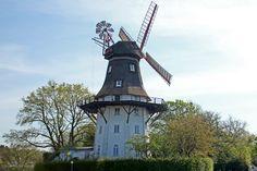 Ein Prachtexemplar: Die Oberneuländer Mühle steht frei und unverbaut. #Bremen