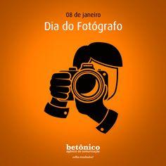 Hoje, quem merece um clique é você.  Uma homenagem da Agência Betônico para você que nunca sai na foto, mas que está sempre em foco. #betonico #agenciabetonico #agencia #publicidade #propaganda #diaespecial #diadofotografo #fotografo