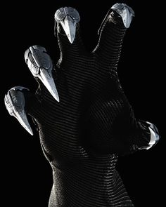 When DJ goes to face Jax, he and Christopher Build gloves with  silver retractable claws built into them incase he and Jax fought hand to hand. Ironically and very unfortunately he built them combining the schematics of both Veda's Shock Blades which also proved useful fighting Jax and the silver it's self came from a melted down sword that was am ancestral weapon to Jax's family, the only relec of the past they had left presumably.