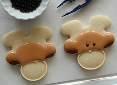 Decorated Moose Cookies