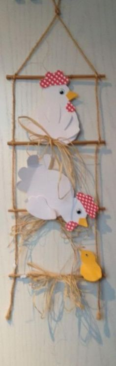link is not a how to this reminds me of the crafts my uncle made Easter Art, Easter Crafts, Preschool Crafts, Crafts For Kids, Diy And Crafts, Arts And Crafts, Chicken Crafts, Art N Craft, Animal Crafts