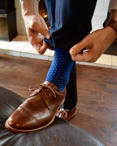 Dress socks for the modern and veteran gentleman alike. - Chris Siegwald