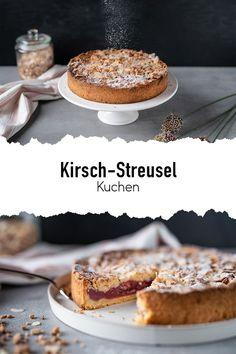 Ein absoluter Klassiker für die Kaffeetafel, einen Geburtstag oder auch einfach so. Der Streuselkuchen ist schnell und ohne viel Aufwand zubereitet und durch die Kirschfüllung schön saftig und fruchtig. 🍒 #sallys #sallyswelt #sallysweltrezept #rezept #recipe #kirschkuchen #kirschkuchenrezept #kirschkuchenrezepteinfach #kirschkuchenklassisch #klassischeskuchenrezept #kuchenrezepteinfach #kuchenrezeptklassisch #kuchenmitkirschen #streuselkuchen #streuselkuchenrezeptklassisch #streuselselbermachen Tiramisu, Hamburger, Sweets, Bread, Ethnic Recipes, Food, Cherry Pie Recipes, Food And Drinks, Diy