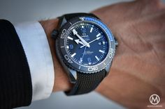 Introducing - Omega Seamaster Planet Ocean Deep Black (Ceramic GMT) - Darker than The Deep Sea - REVIEW