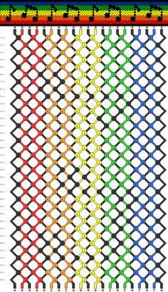 Bracelets Brésiliens - Niveau 5 - Modèle 7