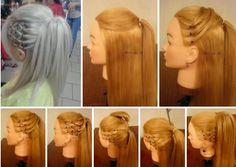 #Hair #style #tutorial #hairdo