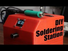 DIY Soldering Station - YouTube