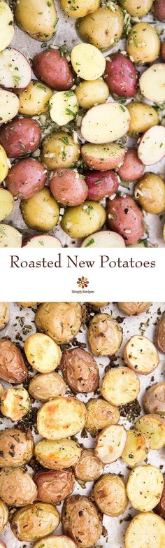 roasted new potatoes roasted new potatoes oven roasted new potatoes ...