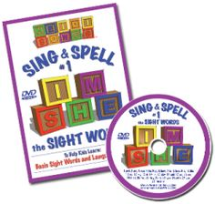 Sight Words - Heidi Songs - Sing-Along Songs that Teach! Must have for teaching sight words #kindergarten